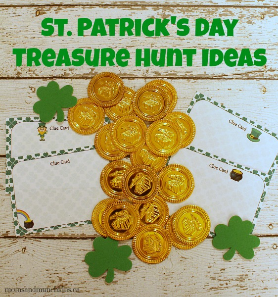 St. Patricks day treasure hunt