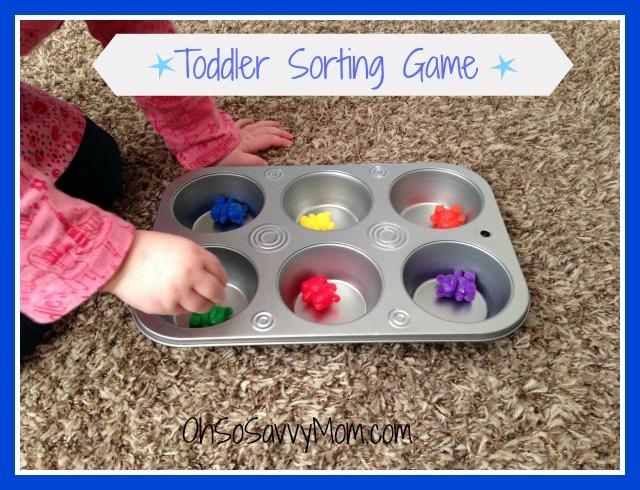 toddler sorting games, preschool sorting games