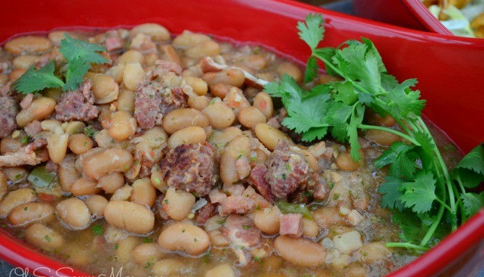Celebrating Cinco de Mayo! Frijoles Charros Recipe + Giveaway!