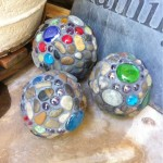 DIY Mosiac Garden Balls - Handmade Mother's Day Gift