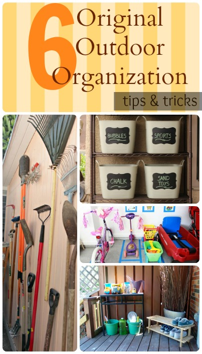 Tips to Organize Outdoor Spaces