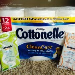Cottonelle CleanCare Toilet Paper and FreshCare Flushable Wipes