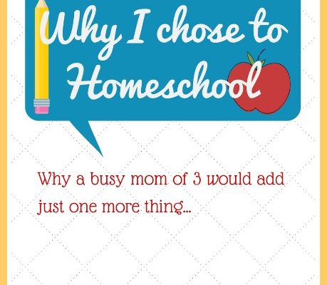 Why I chose to homeschool
