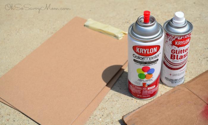 Creating a Kids Art wall--materials