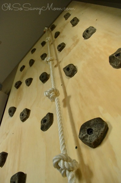 How To Build A Diy Kids Climbing Wall Oh So Savvy Mom