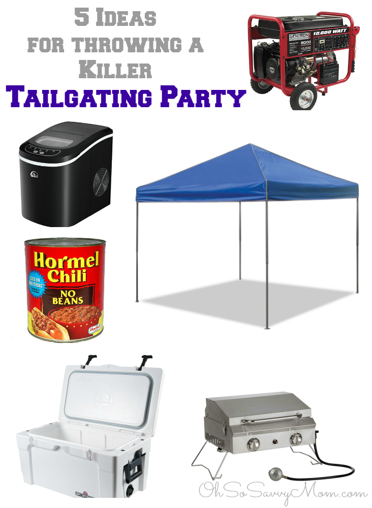 5 Tailgating Party Ideas for a Killer Tailgating Party