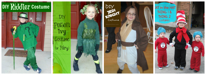 DIY Halloween Costumes from Mission To Save