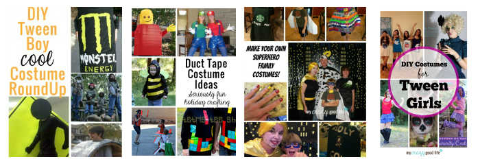 DIY Halloween Costumes from My Crazy Good Life