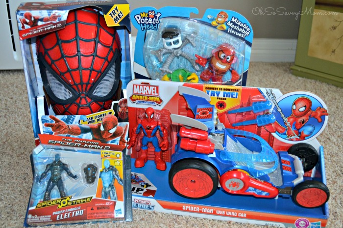 Spider-Man Toys from Hasbro