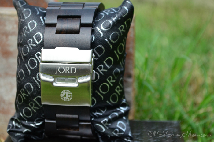 Jord wood watch clasp