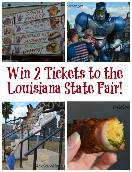 Louisiana State Fair giveaway