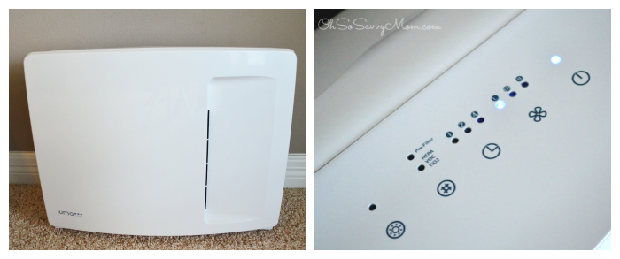 Luma Comfort AP400W air purifier collage