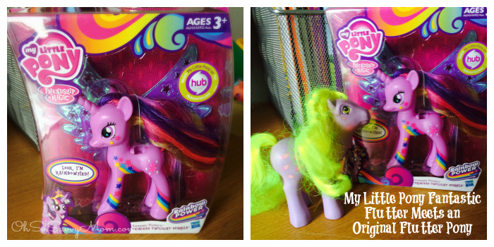 My LIttle Pony Fantastic Flutters Pony from Hasbro
