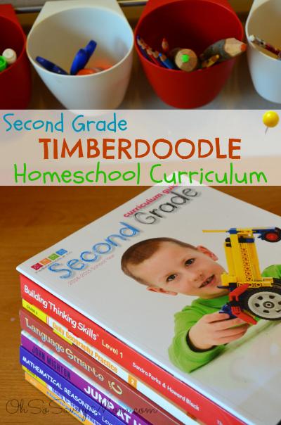Second Grade Timeberdoodle Homeschool Curriculum Review
