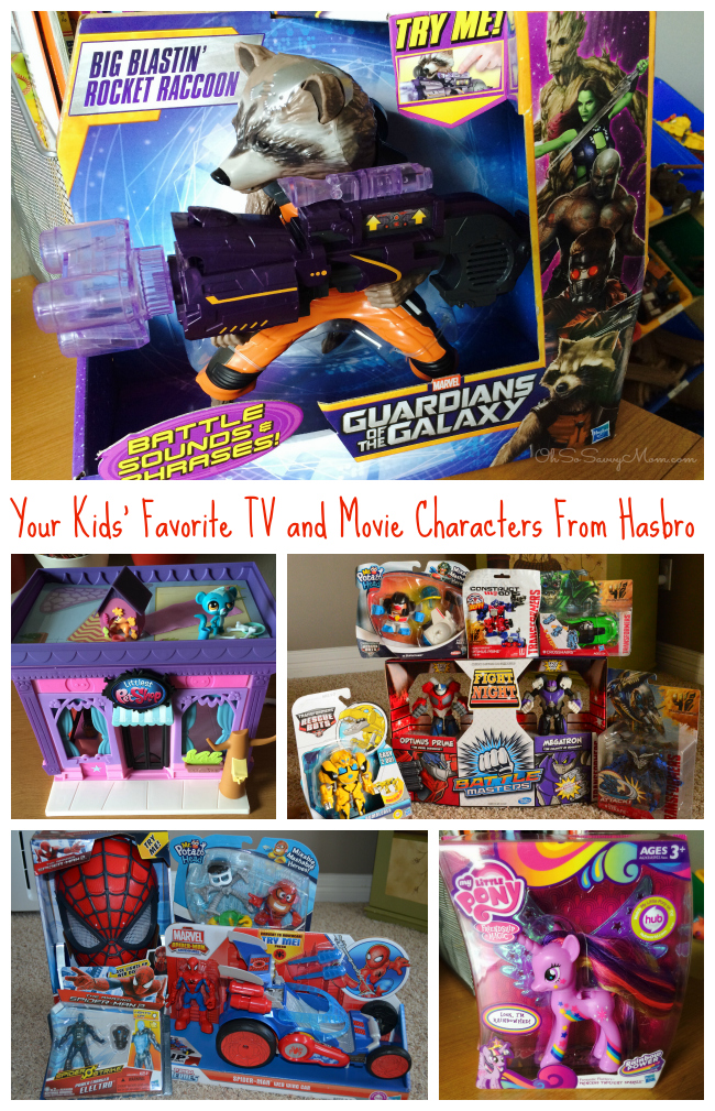 Your Kids' Favorite TV and Movie Characters from Hasbro