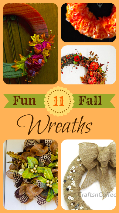 11 Fun DIY Fall Wreath Ideas