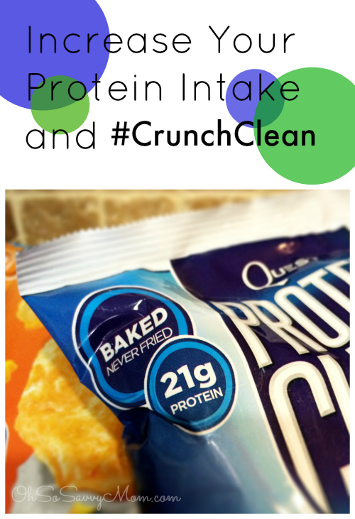 #CrunchClean with Quest Protein Chips