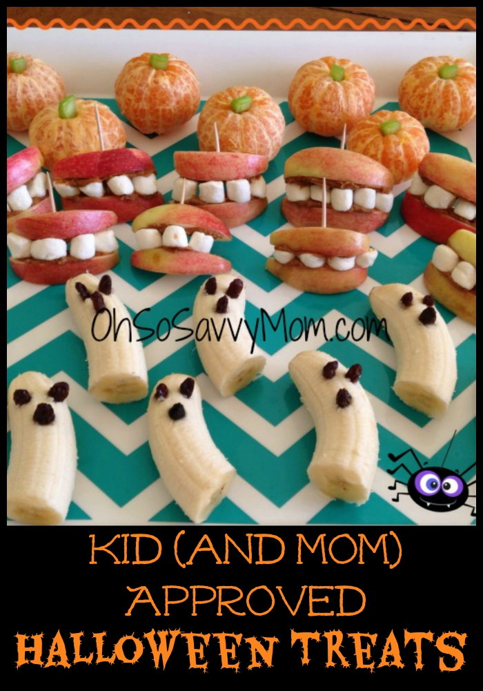 Kid and Mom Approved Halloween Treats