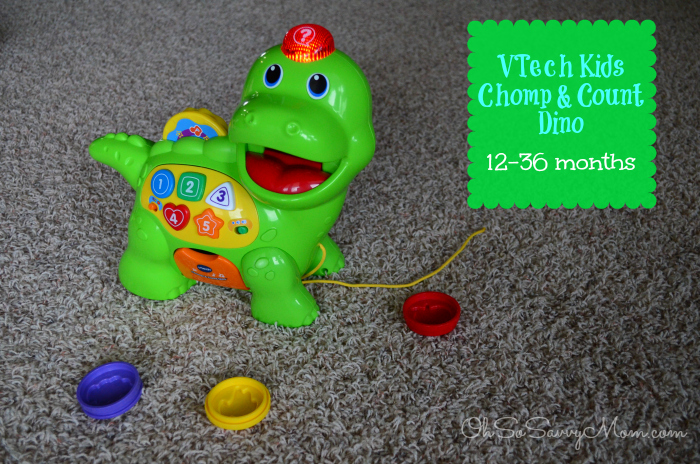 VTech Kids Chomp and Count Dino