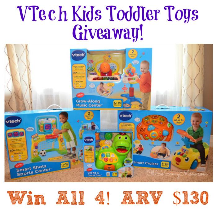 VTech toddler toys giveaway