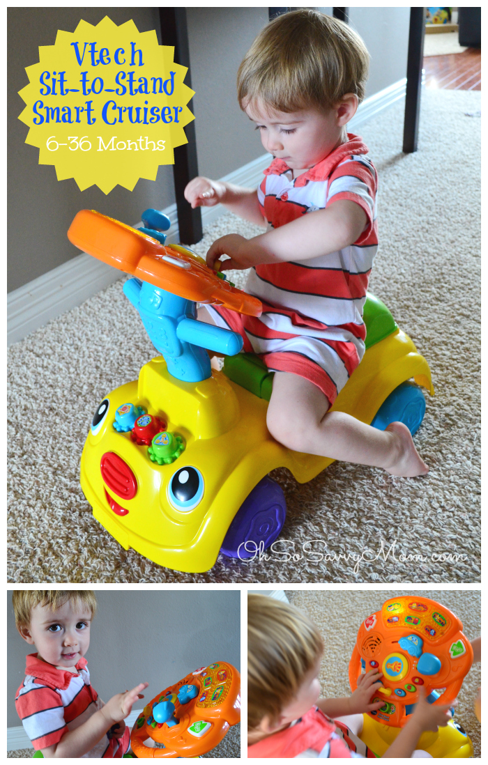VTech Sit-to-Stand Smart Cruiser toddler toy Review, VTech Toddler Toys