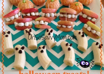 Halloween Fruit Appetizers