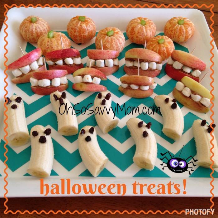 Halloween Fruit Appetizers