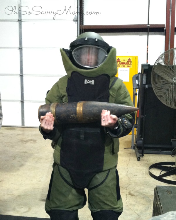 Explosive Ordinance Disposal Suit- United States Air Force
