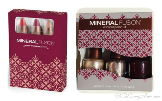 mineral fusion nail polish and lip tints