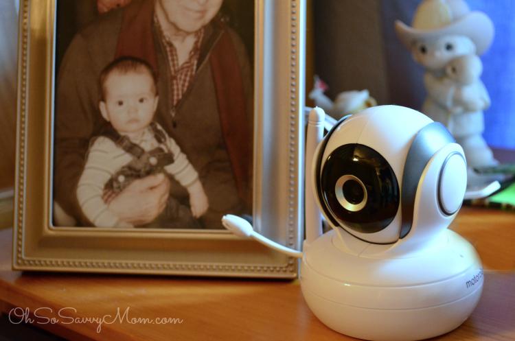 Motorola MBP36S video baby monitor