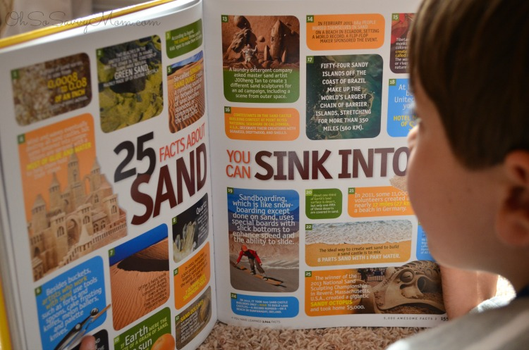National Geographic Kids Awesome Facts inside