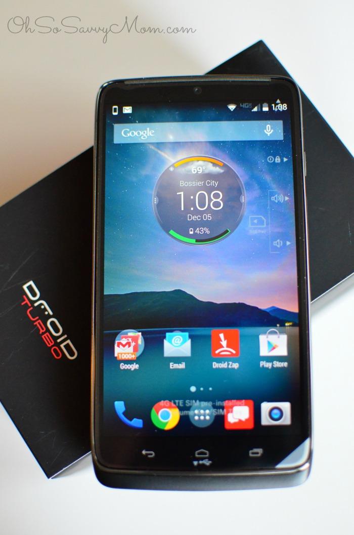 Motorola Droid Turbo, top tech gifts from Verizon