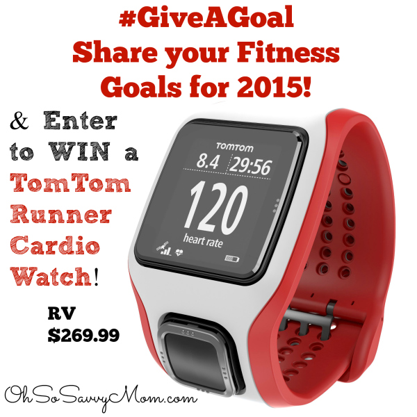 TomTom Runner Cardio GPS Watch Giveaway