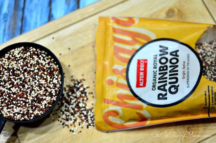 Alter Eco Quinoa in Santa Fe Chicken Quinoa Casserole
