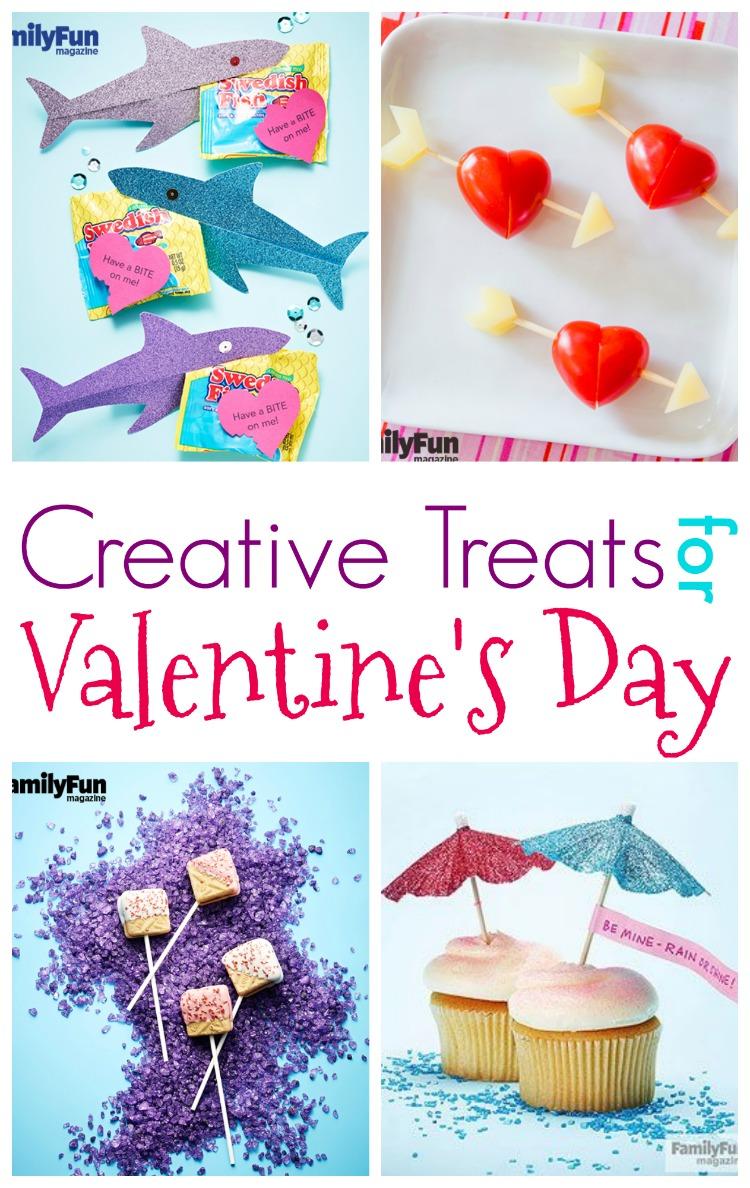 Creative Treats for Valentine's Day