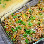 Santa Fe Chicken Quinoa Casserole Recipe