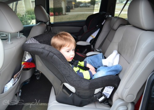 Cosco NEXT extended rear facing convertible car seat