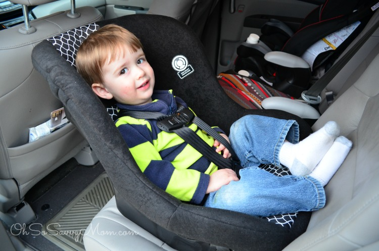 Extended Rear Facing Car Seat - Cosco Scenera NEXT Review