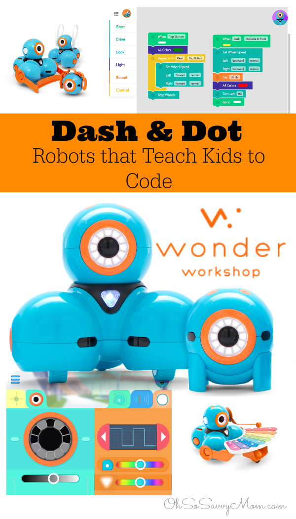 Dash and Dot , Robots that teach kids to code
