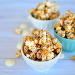 Delicious Honey Cinnamon Caramel Corn
