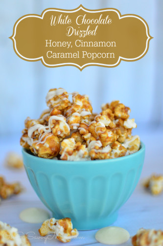 To die for Honey Cinnamon Caramel Corn