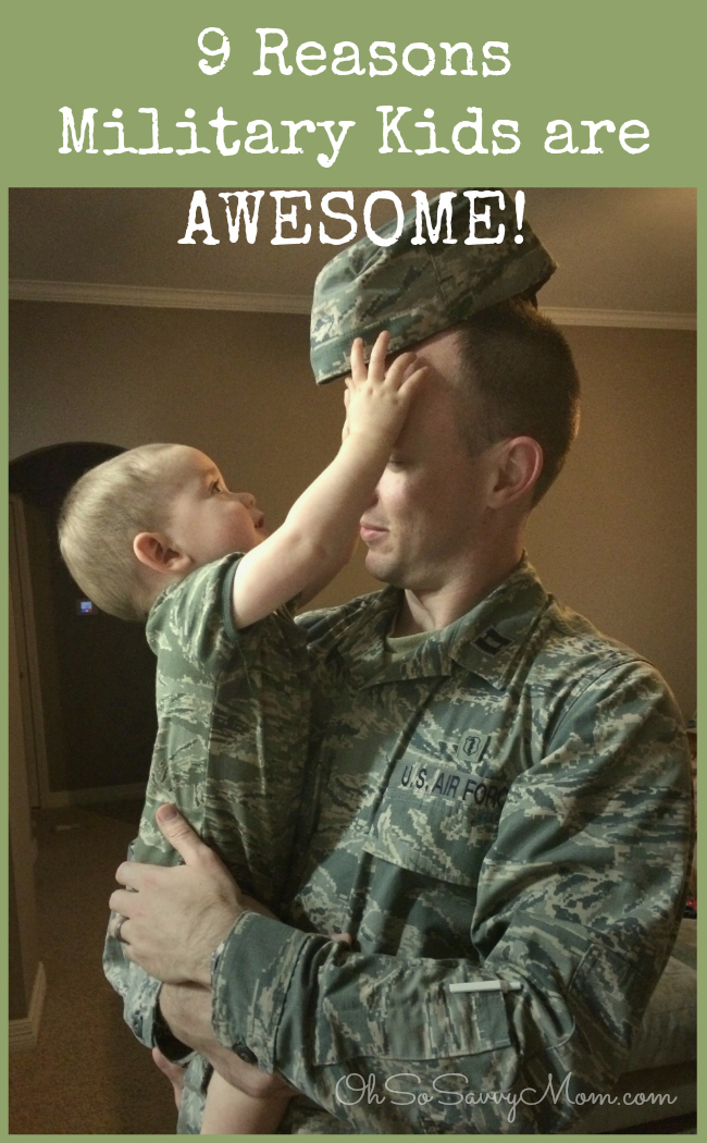 9 Reasons Military Kids are Awesome!
