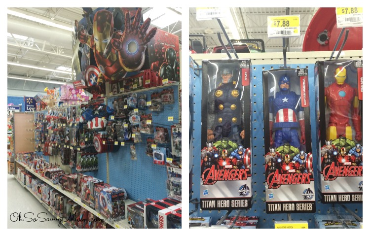 Avengers Easter Basket Ideas at Walmart