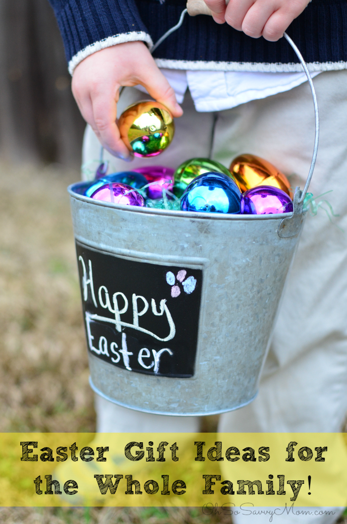 The perfect easter gifts for everybunny you know oh so savvy mom easter gift ideas for the family negle Choice Image