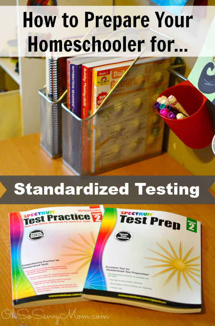How to prepare your homeschooler for standardized testing