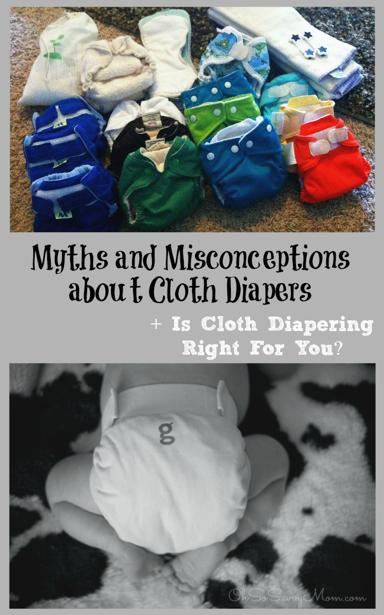 Myths and Misconceptions about Cloth Diapers