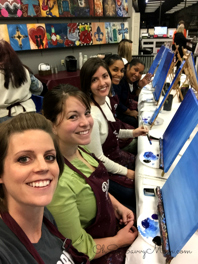 Painting with a twist Bossier Girls Night Out
