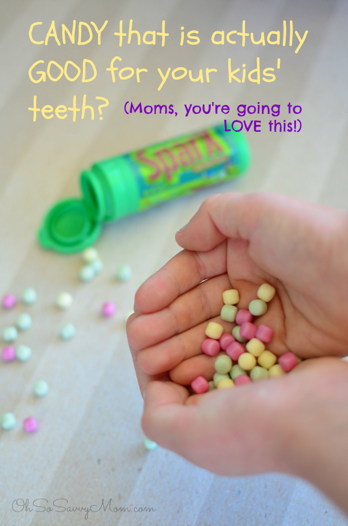 A candy that's good for your kids' teeth? SparX xylitol candy can actually help prevent cavities!