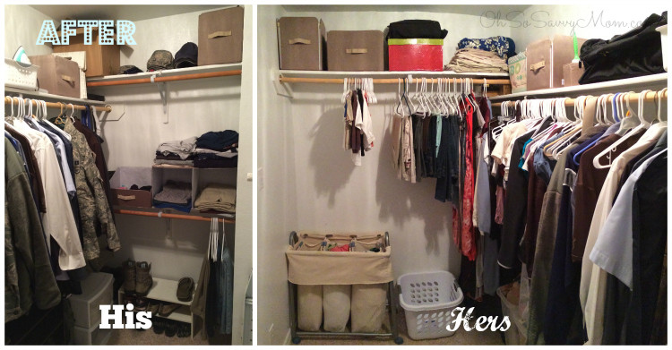 Closet Redo After