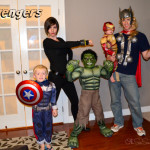 My Boys Made their First Little Avengers Movie! #AvengersUnite